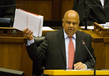 Image result for I still remain South Africa's finance minister - Gordhan