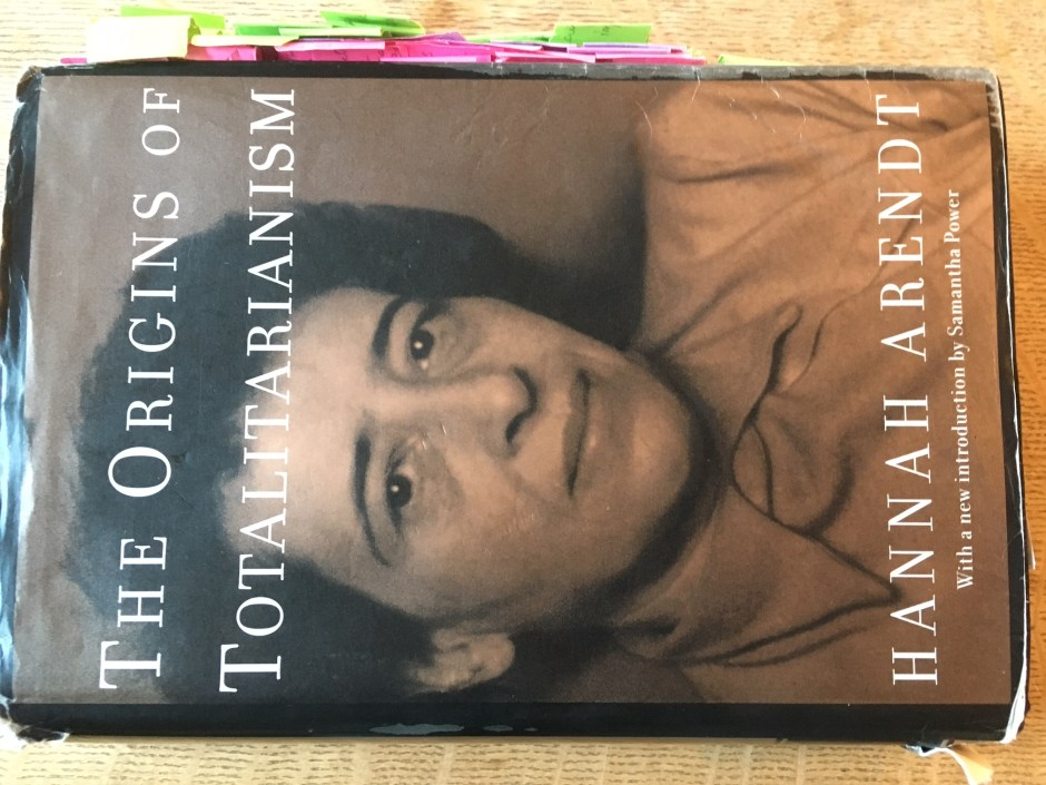 Hannah Arendt's The Origins of Totalitarianism