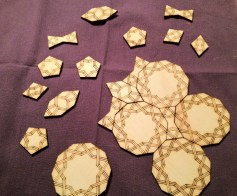 Laser-cut Girih tiles. Credit: 38462165@N05/flickr. CC BY