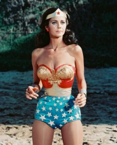 Lynda Carter as the 1970s Wonder Woman. Credit: Bruce Lansbury Productions
