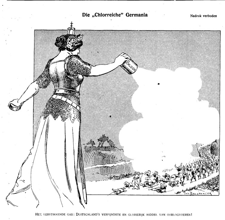 De Groene Amsterdammer, May 9, 1915. Credit:De Groene Amsterdammer Archive