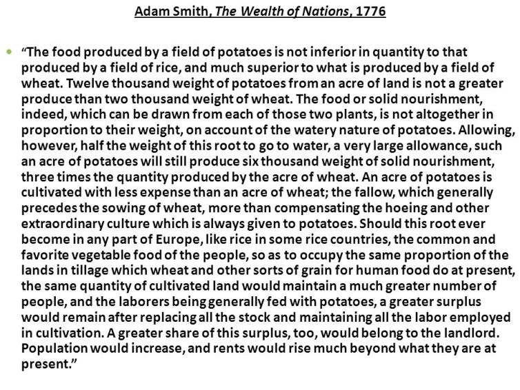 From: The Wealth of Nations (1776). Credit: Adam Smith