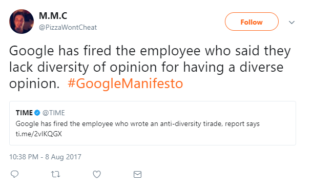 Google firing of diversity dissenter leaves awkward questions hanging file 20170809 26039 u7wilv
