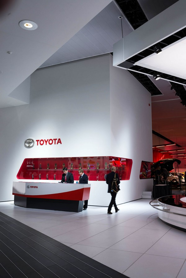 The Architecture Of The Auto Show 2014