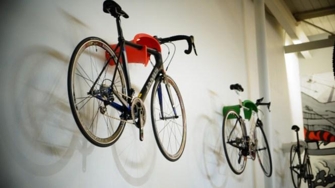View In Gallery Cycloc Solo Indoor Bike Rack