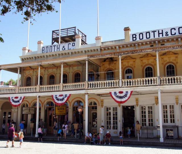 Take A Visit To Old Sacramento State Historic Park