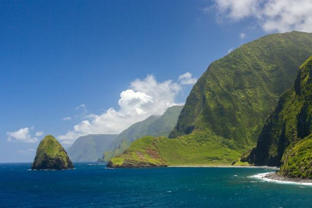 cliffs of Molokai, Hawaii