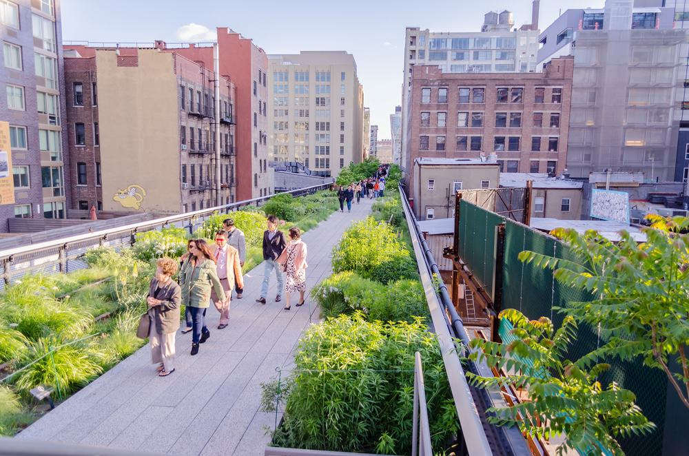 High Line Park, Nueva York