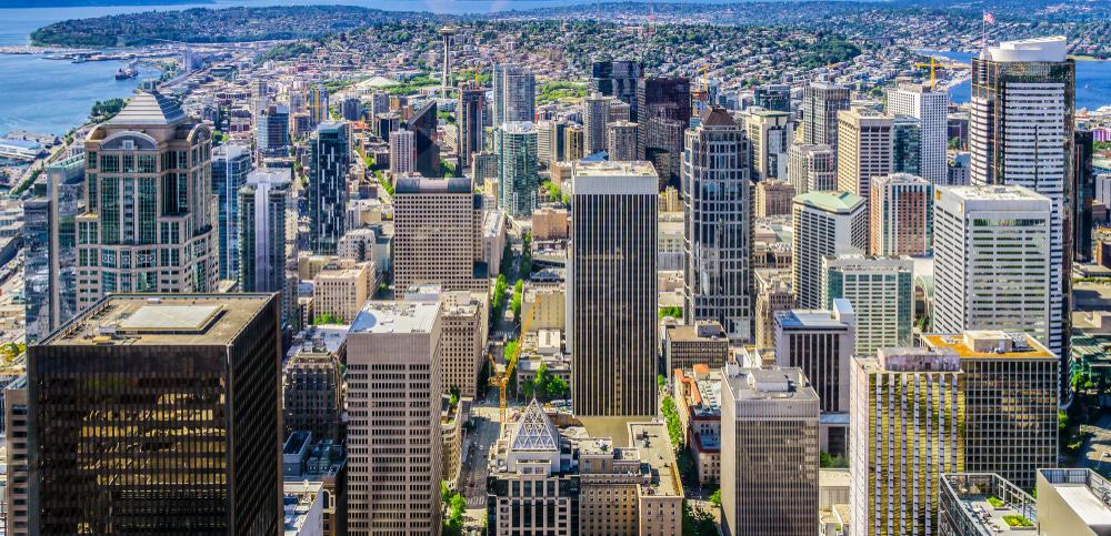Vista desde el Observatorio Sky View, Seattle