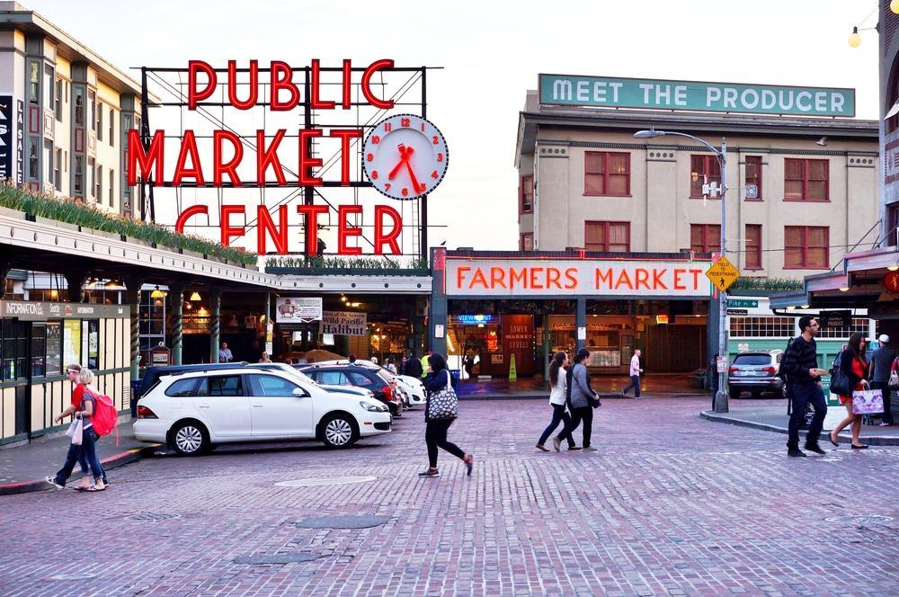 Mercado de Pike Place, Seattle