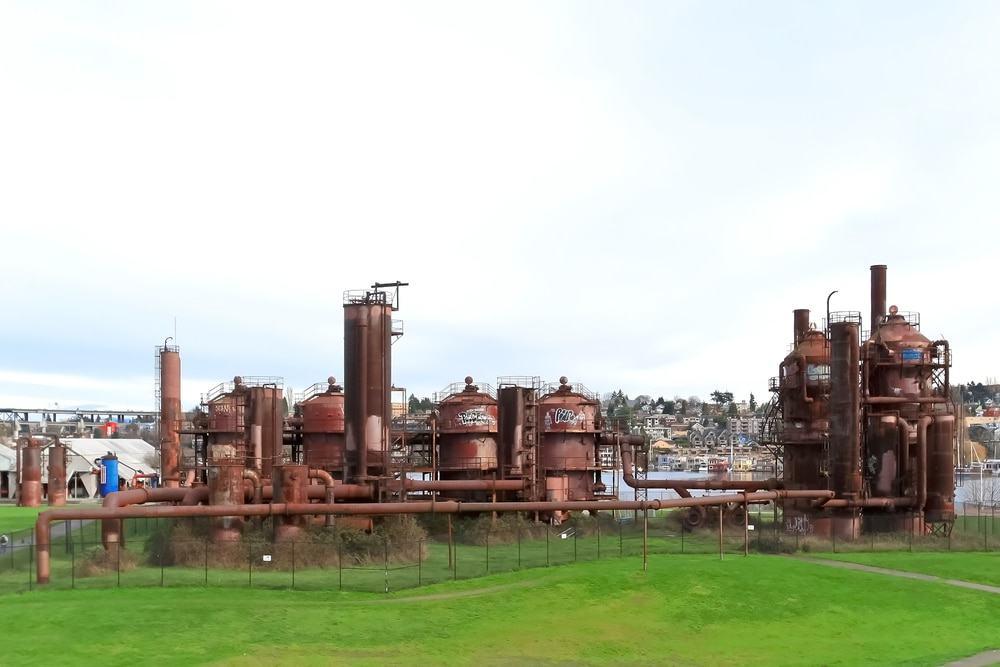Parque de obras de gas, Seattle
