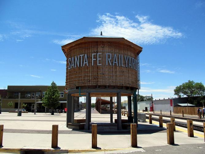 Santa Fe Railyard District   © Jmeeter