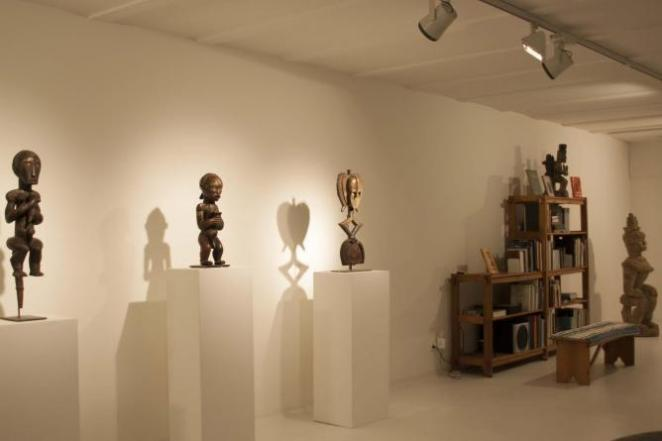 Exhibition space at Galerie Peter Herrmann