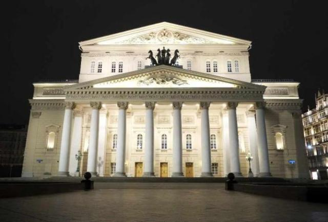 The Bolshoi Theatre, Moscow   © Paul Nuttall/Flickr