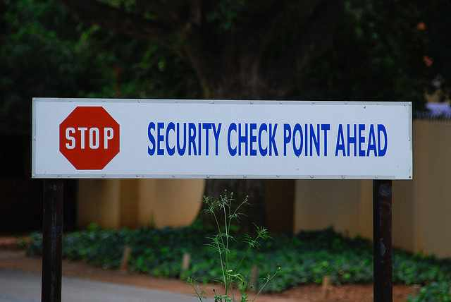 Security Checks Are Frequent   © Paul Keller/Flickr