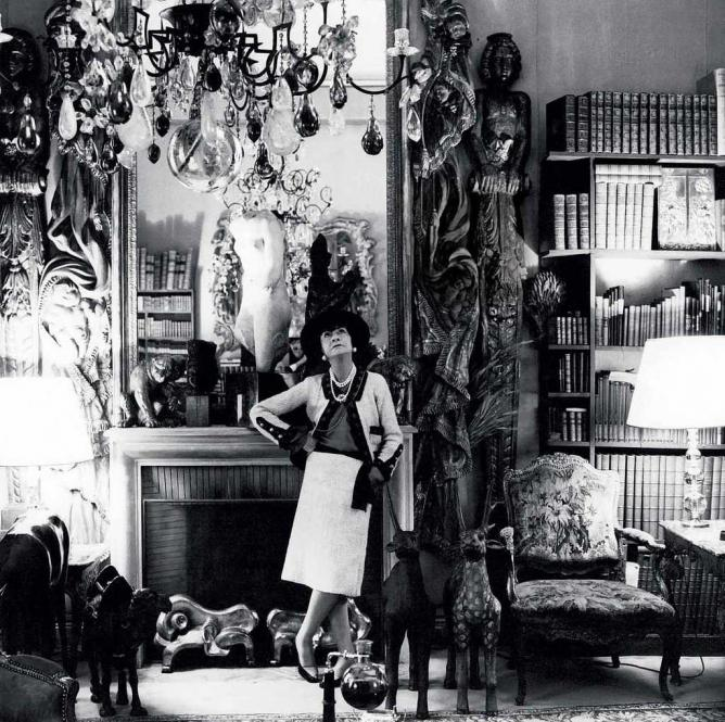 BEFORE: Coco Chanel's suite at the Hotel Ritz Paris.
