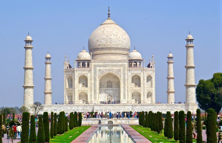 Taj Mahal Agra India top 10 most beautiful cities in india just info check