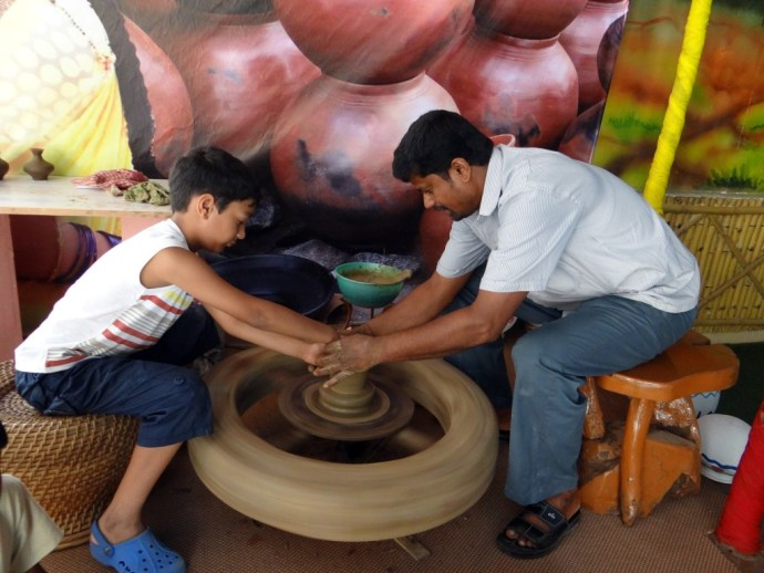 Potmaking Bangalore India principais cidades da India