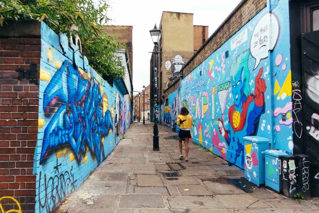 Shoreditchs 10 Best Streets To See Graffiti