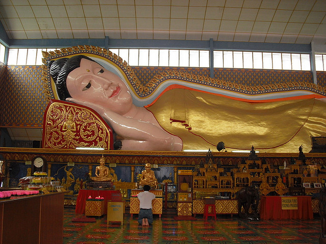Reclining Buddha | © Wohin Auswandern/Flickr
