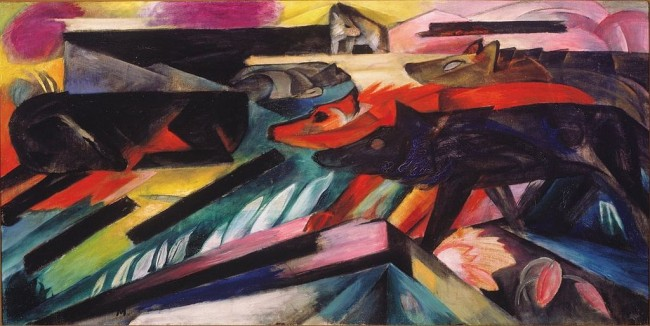 The Wolves (Balkan Wars) | © Franz Marc/WikimediaCommons