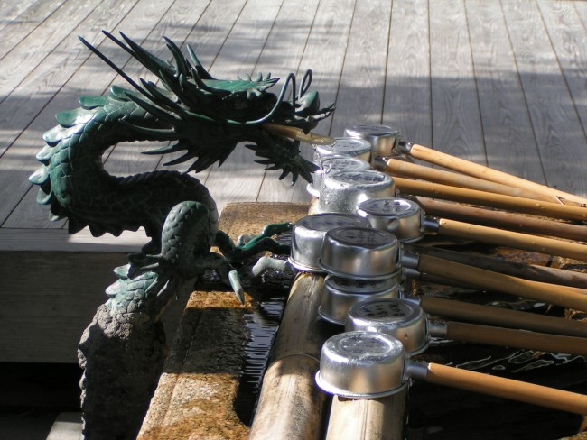 Dragon Fountain, Japan © Lu Barnham