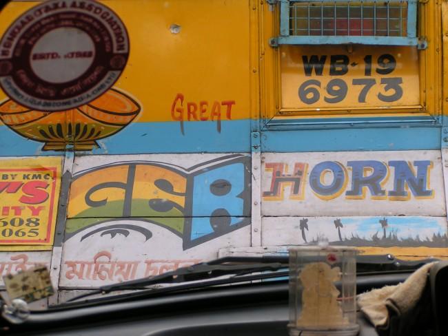 West Bengal Truck © Lu Barnham