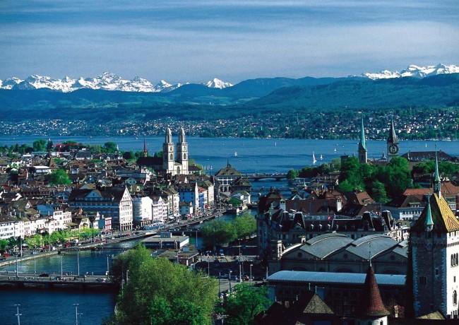 Zürich | © MadGeographer/WikiCommons