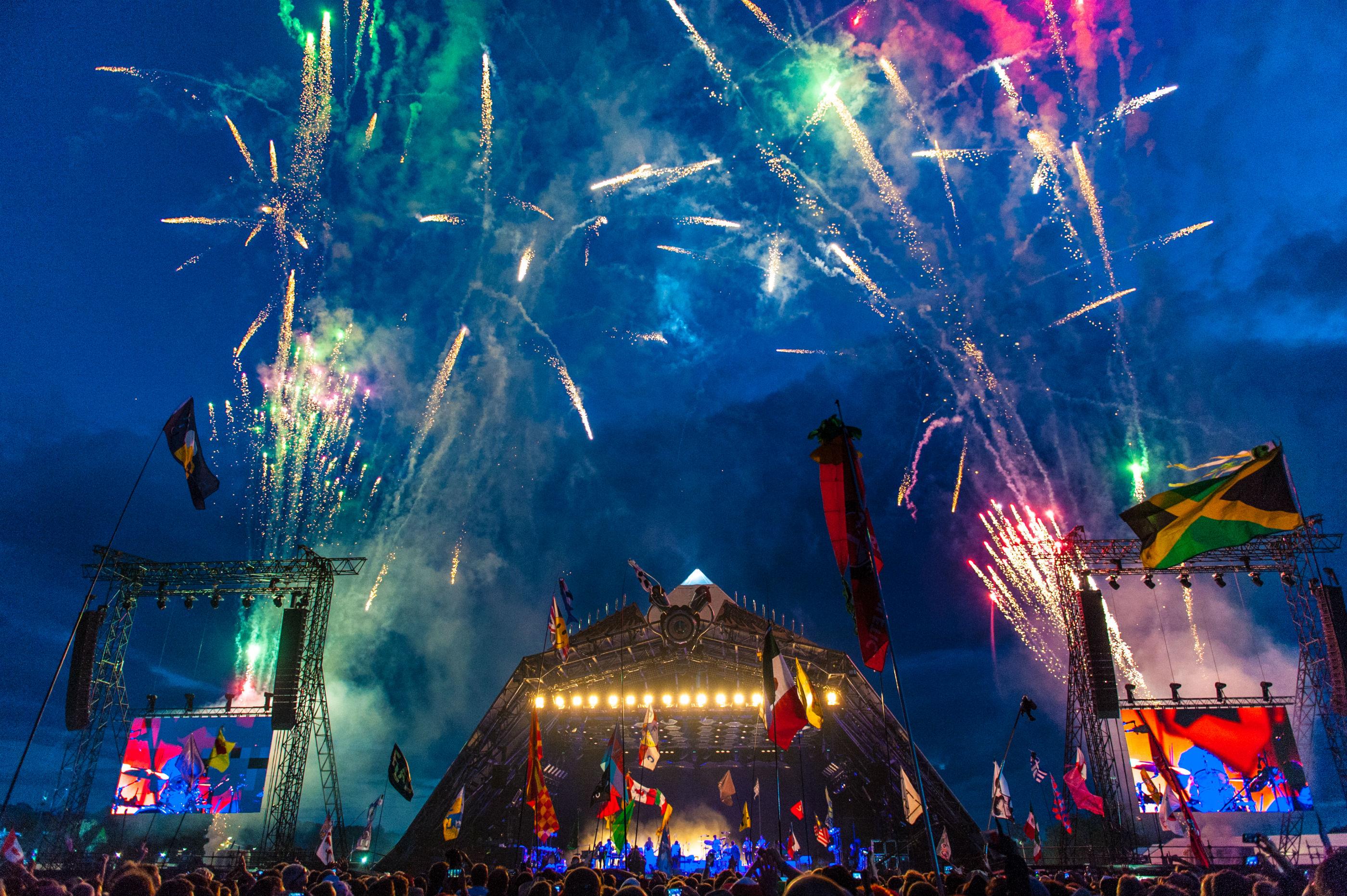 The History Of Glastonbury Festival