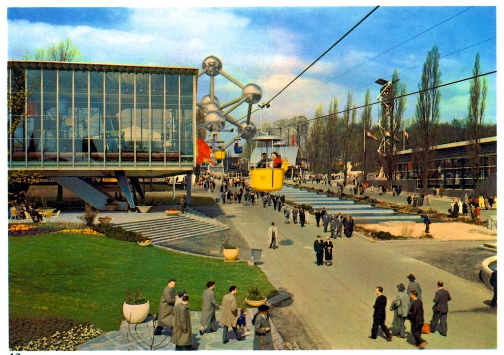 Expo 58 A Brief History Of Belgiums World Fair Showcase