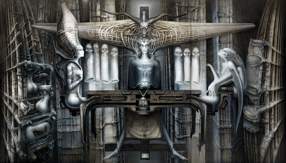 HR Gigers Surreal Creatures Will Haunt Amp Hunt You