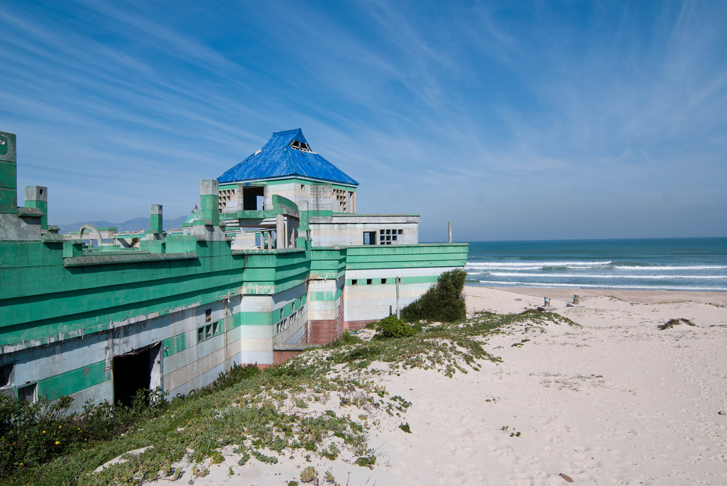 Macassar Beach Pavilion Cape Towns Abandoned Water Park
