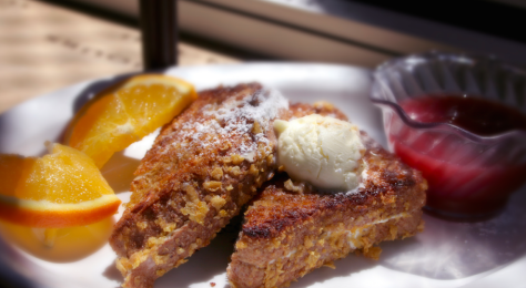 Philly French Toast, Courtesy of Guru Cafe