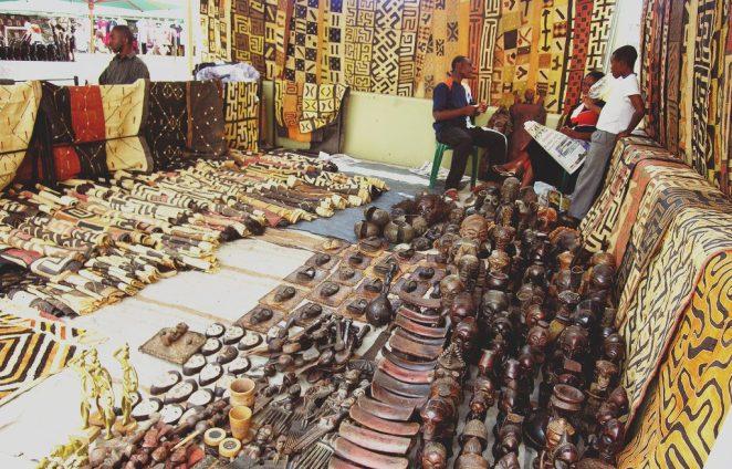 Rosebank African craft market
