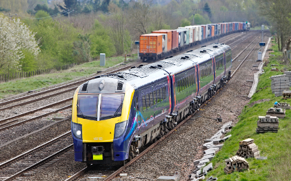 Vital train announcement made over inaudible speaker