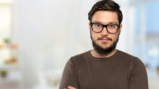 Man's high IQ has not stopped him wanking on about it