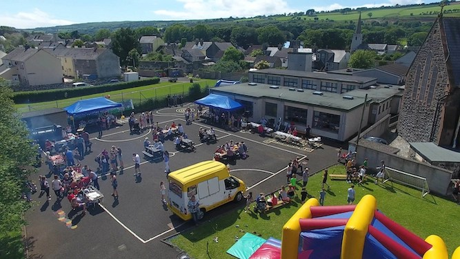 Mum blows entire life savings at school fete