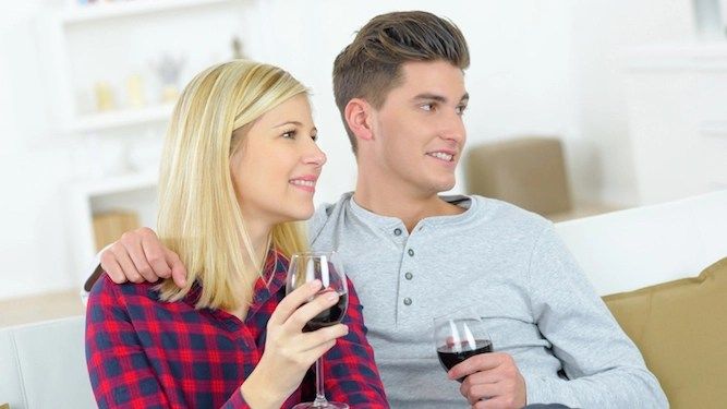 Wife who agreed to share bottle of wine only drinks one glass again