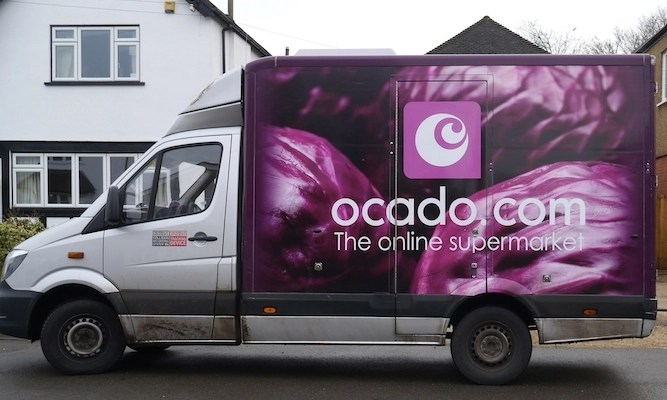 Ocado drivers more effective at blocking roads than Extinction Rebellion