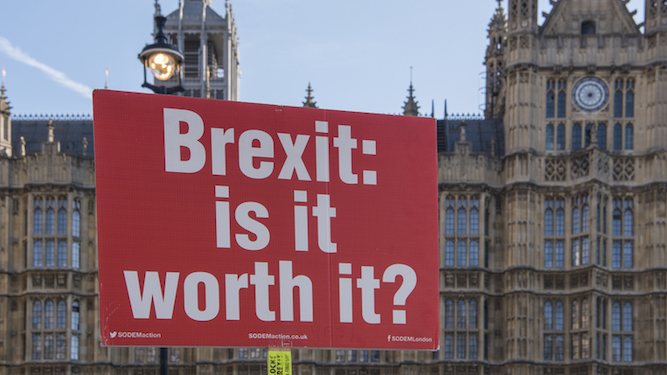 No-deal Brexit worth it if it means never hearing about 'the 17.4 million' again