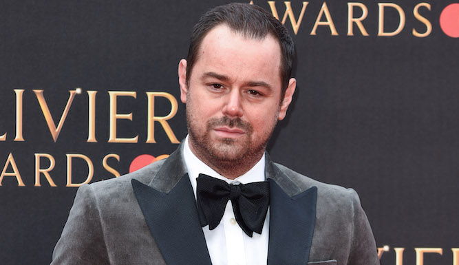 Exhausted Danny Dyer gives whole Cockney thing a rest