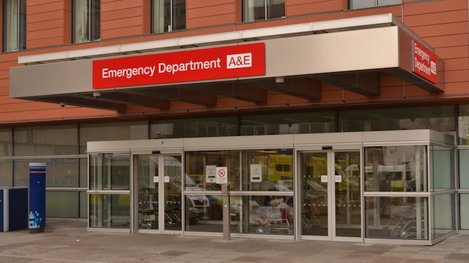 A&E targets to be changed to 'If you're not dead'