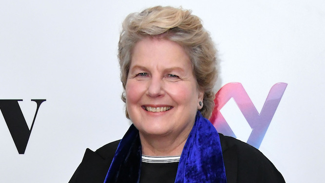 Honestly it's nothing to do with that f**khead Hollywood, says Toksvig