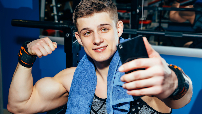 People who post gym selfies to receive vaccine last