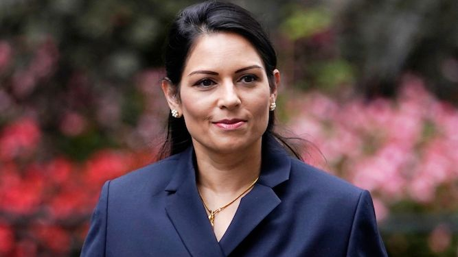 'Smirk like nobody's watching': inspirational quotes from Priti Patel