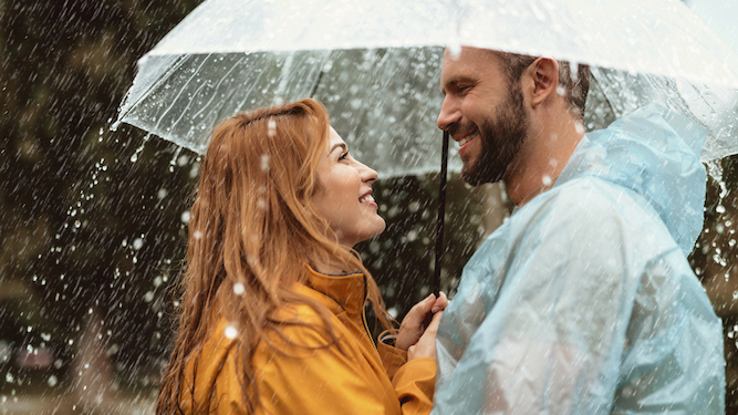 Sharing an umbrella, and other romantic things that are actually shite