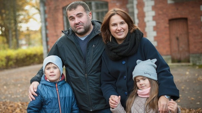 Working-class family still trying to see point of Christmas walk