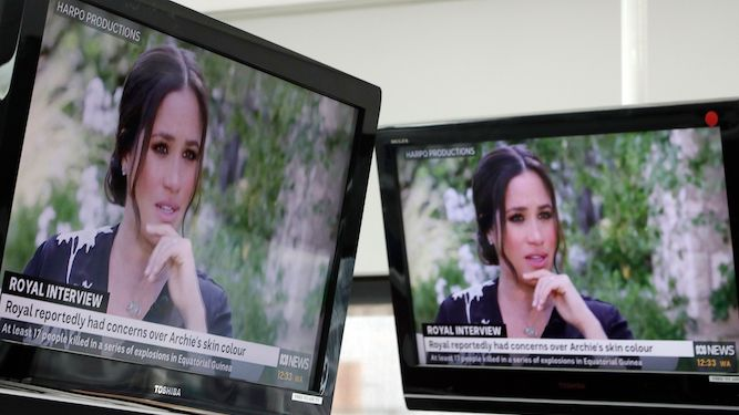 'Queen nice, rest of them arseholes': the key points from Meghan's interview