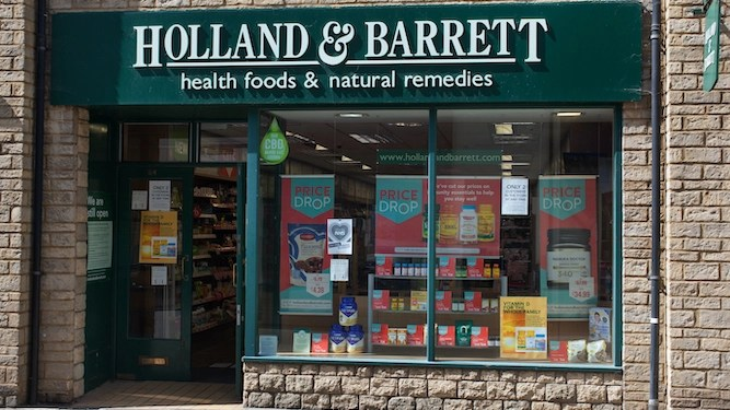 Man still not entirely sure what's in a Holland & Barrett