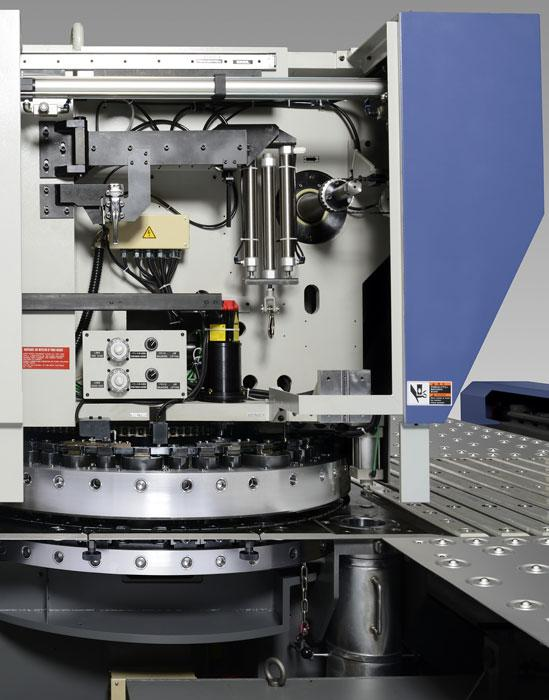 heavy duty sheet metal punching with